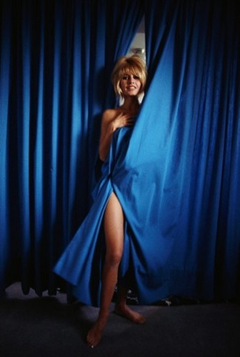 Brigitte Bardot karatasi la kupamba ukuta titled Lovely BB