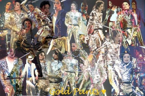 MIchael In Gold!!!