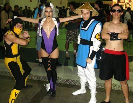 Mortal Kombat kertas dinding entitled MK Outfits