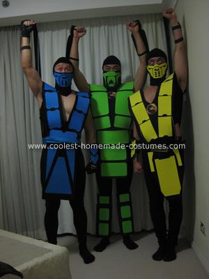 Reptile mortal kombat costume - photo#26