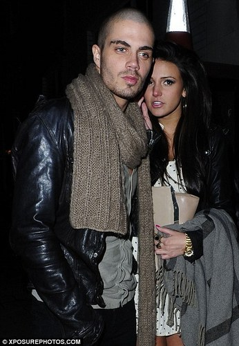 The Wanted वॉलपेपर probably containing a hip boot, an outerwear, and a box कोट titled Max George & Michelle Keegan Make An Amazing Couple (Maxchelle) 100% Real :) x