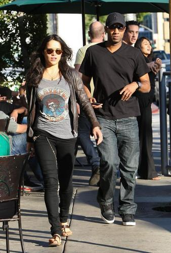 Michelle Rodrigues- in Melrose Blvd 20/01/11
