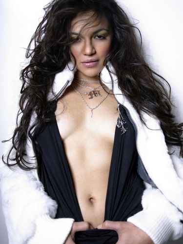 Michelle Rodriguez hình nền possibly containing attractiveness and a portrait entitled Michelle in 2003