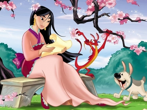 Mulan - disney Wallpaper