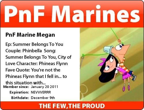 My PnF Marines Badge
