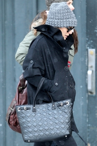 Natalie out in Tribeca