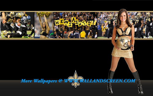 New Orleans Saintsation Maggie