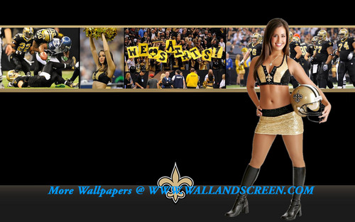 New Orleans Saintsation Stephanie