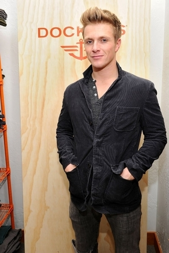 New Pics of Charlie Bewley in Levi's showroom in L.A at Sundance