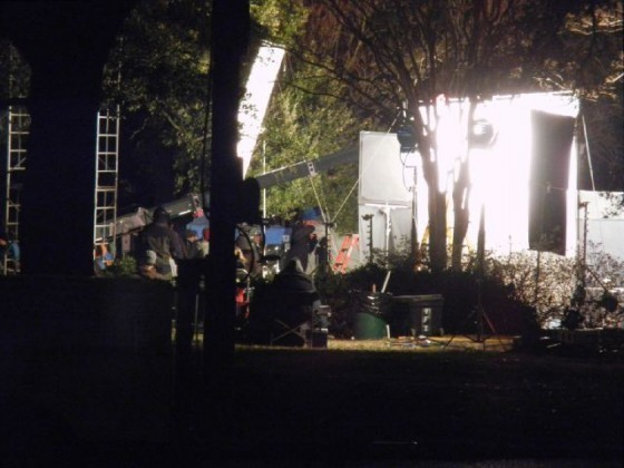 New Pictures From The Breaking Dawn Set: Night Shoot!