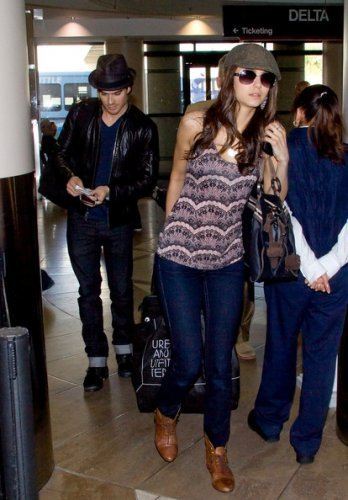 Nina & Ian Airport Los Angeles