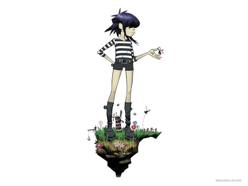 Noodle - gorillaz Wallpaper