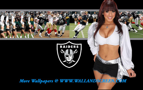 Oakland Raiderette Angel