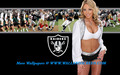 Oakland Raiderette Staci - nfl-cheerleaders wallpaper