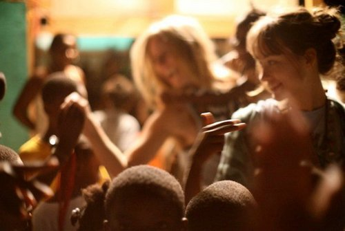 Olivia in Haiti