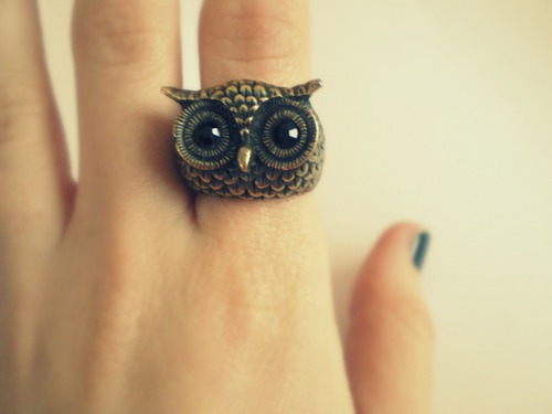 Owl ring FTW