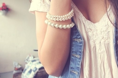 Pearls are dreamy  - daydreaming Photo
