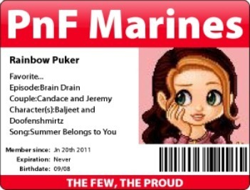PnF Marines card