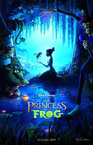 Princess & the Frog Poster