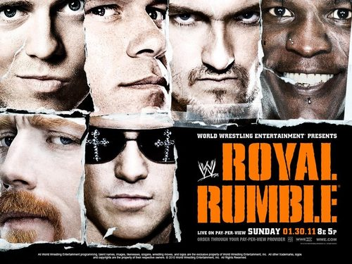 WWE wallpaper entitled Royal Rumble 2011