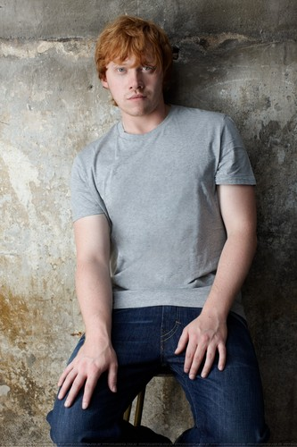 Rupert Grint wallpaper probably containing a hip boot and a pantleg titled Rupert Grint Photoshoot HQ