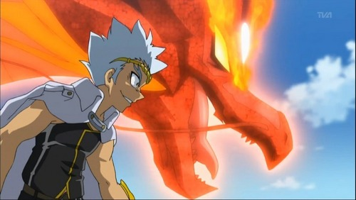 Beyblade Metal Fusion achtergrond with anime entitled Ryuga