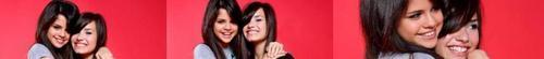 Selena and Demi Banner