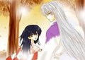 Sesshomaru and Rin