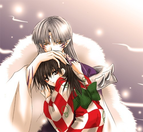 Sesshomaru and Rin wallpaper called Sesshomaru and Rin