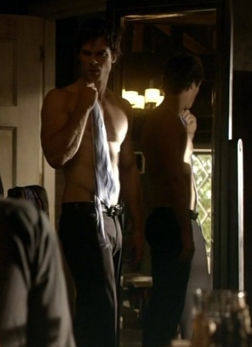 Damon Salvatore wallpaper possibly containing a street entitled Sexy
