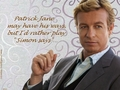 Simon says - simon-baker wallpaper