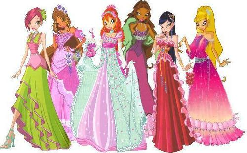 Some pictures from my favourite cartoon:Winx Club ♥