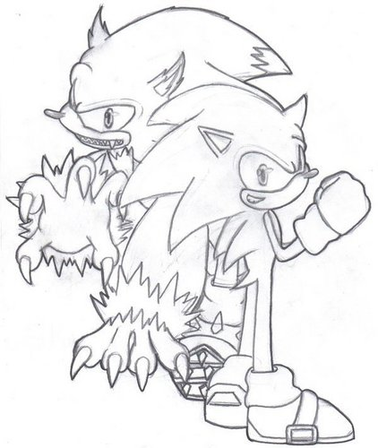 Sonic the werehog<3