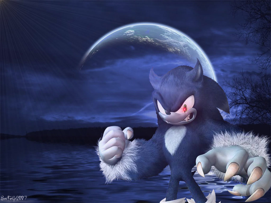 Sonic The Werehog Images HD Wallpaper And Background Photos