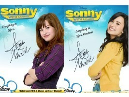 Sonny Munroe Autograph Season 1 and 2