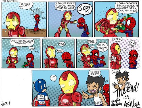 Spiderman Comics:)