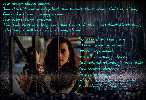 Stand in the Rain- Ziva