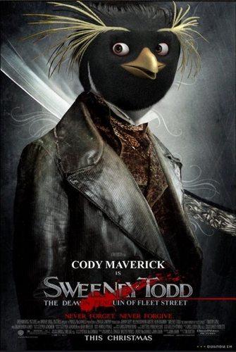 Sweeney Todd: The Demon pingüino, pingüino de of Fleet calle