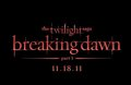THE TWILIGHT SAGA: BREAKING DAWN - PART 1 title treatment! - twilight-series photo