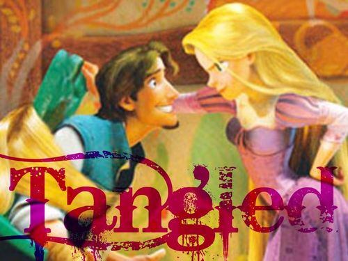 Tangled wallpaper probably with anime called Tangled