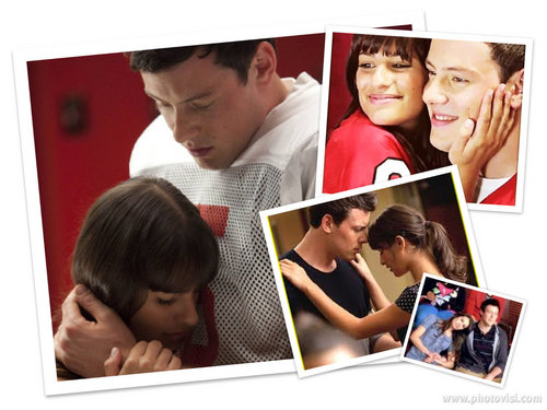Finn & Rachel پیپر وال with a laptop titled The Best Of Finchel