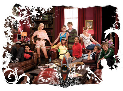 "The House of Anubis wallpaper with a drawing room, a living room, and a drawing room entitled The Dutch ""House Of Anubis"""