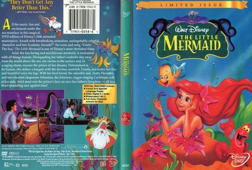 The Little Mermaid - Limited Edition DVD Cover