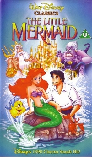 The Little Mermaid VHS Cover