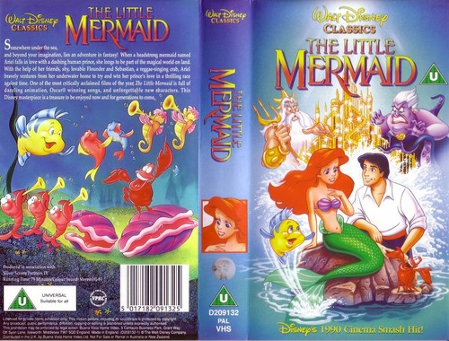 The Little Mermaid VHS Cover - the-little-mermaid Photo