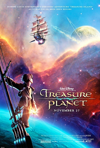 迪士尼 壁纸 entitled Treasure Planet Poster