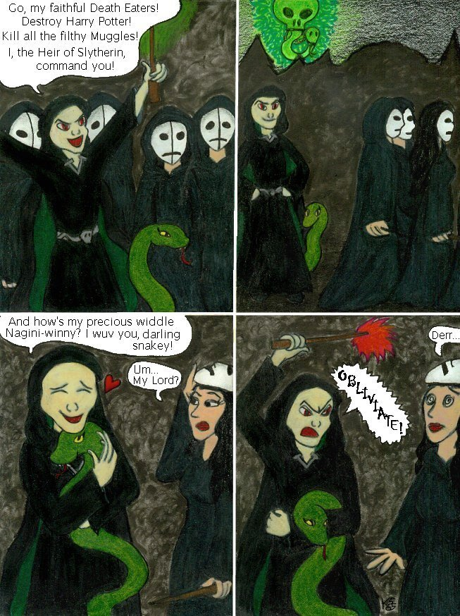 Voldemort and Nagini
