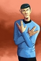 Vulcan home-boy - mr-spock fan art