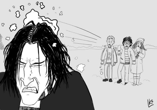 Severus Snape wallpaper entitled They're sooo in trouble!!!