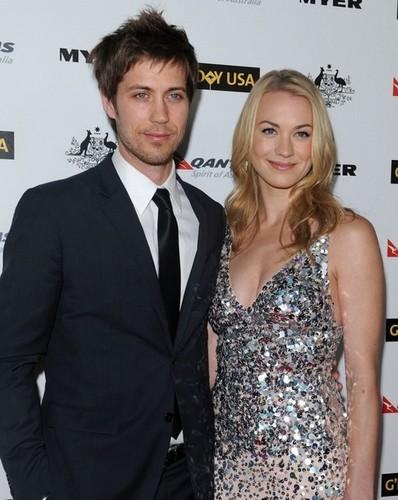 Yvonne Strahovski & Tim Loden @ the 2011 G'Day USA Black Tie Gala